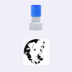 Welch Terrier Rubber Round Stamps (Small)