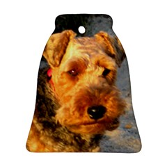 Welch Terrier Bell Ornament (2 Sides)