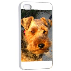 Welch Terrier Apple iPhone 4/4s Seamless Case (White)