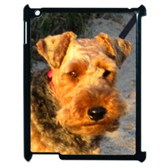 Welch Terrier Apple iPad 2 Case (Black)