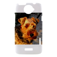 Welch Terrier HTC One X Hardshell Case
