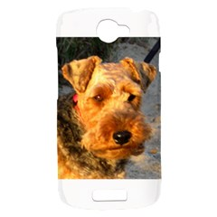 Welch Terrier HTC One S Hardshell Case