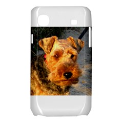Welch Terrier Samsung Galaxy SL i9003 Hardshell Case