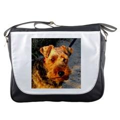 Welch Terrier Messenger Bags