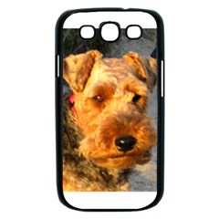 Welch Terrier Samsung Galaxy S III Case (Black)