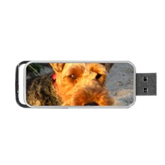 Welch Terrier Portable USB Flash (One Side)