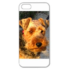 Welch Terrier Apple Seamless iPhone 5 Case (Clear)