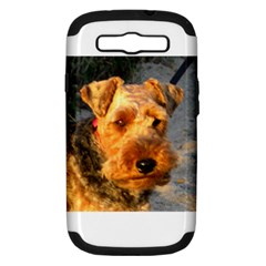 Welch Terrier Samsung Galaxy S III Hardshell Case (PC+Silicone)