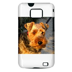 Welch Terrier Samsung Galaxy S II i9100 Hardshell Case (PC+Silicone)