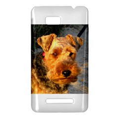 Welch Terrier HTC One SU T528W Hardshell Case