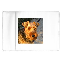 Welch Terrier Samsung Galaxy Tab 10.1  P7500 Flip Case