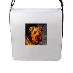 Welch Terrier Flap Messenger Bag (L)