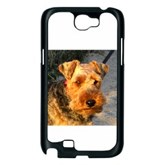 Welch Terrier Samsung Galaxy Note 2 Case (Black)