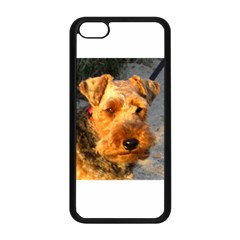 Welch Terrier Apple iPhone 5C Seamless Case (Black)
