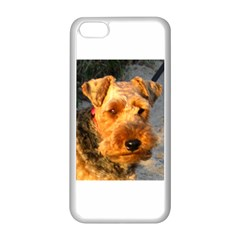 Welch Terrier Apple iPhone 5C Seamless Case (White)