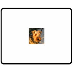 Welch Terrier Double Sided Fleece Blanket (Medium)