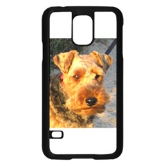 Welch Terrier Samsung Galaxy S5 Case (Black)