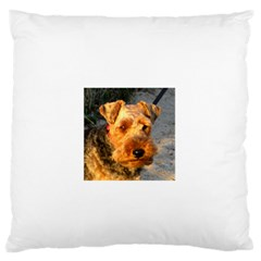 Welch Terrier Standard Flano Cushion Case (Two Sides)