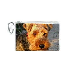 Welch Terrier Canvas Cosmetic Bag (S)
