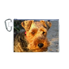 Welch Terrier Canvas Cosmetic Bag (M)