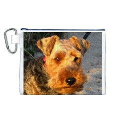 Welch Terrier Canvas Cosmetic Bag (L)