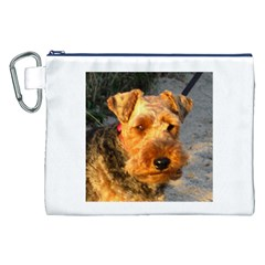 Welch Terrier Canvas Cosmetic Bag (XXL)