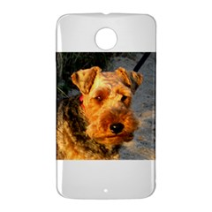 Welch Terrier Nexus 6 Case (White)
