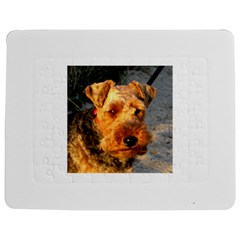 Welch Terrier Jigsaw Puzzle Photo Stand (Rectangular)
