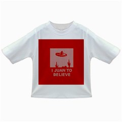 I Juan To Believe Ugly Holiday Christmas Red Background Infant/Toddler T-Shirts