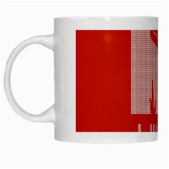 I Juan To Believe Ugly Holiday Christmas Red Background White Mugs