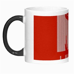 I Juan To Believe Ugly Holiday Christmas Red Background Morph Mugs