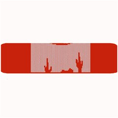 I Juan To Believe Ugly Holiday Christmas Red Background Large Bar Mats