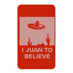I Juan To Believe Ugly Holiday Christmas Red Background Memory Card Reader