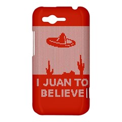 I Juan To Believe Ugly Holiday Christmas Red Background HTC Rhyme