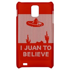 I Juan To Believe Ugly Holiday Christmas Red Background Samsung Infuse 4G Hardshell Case
