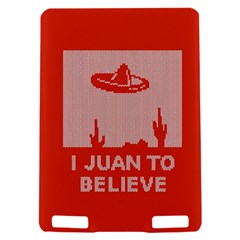 I Juan To Believe Ugly Holiday Christmas Red Background Kindle Touch 3G