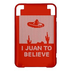 I Juan To Believe Ugly Holiday Christmas Red Background Kindle 3 Keyboard 3G