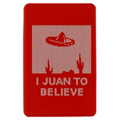I Juan To Believe Ugly Holiday Christmas Red Background Kindle Fire (1st Gen) Hardshell Case