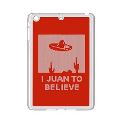 I Juan To Believe Ugly Holiday Christmas Red Background Ipad Mini 2 Enamel Coated Cases