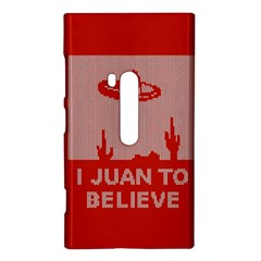 I Juan To Believe Ugly Holiday Christmas Red Background Nokia Lumia 920