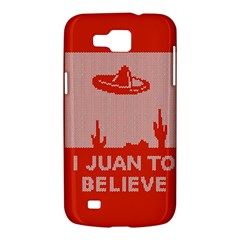 I Juan To Believe Ugly Holiday Christmas Red Background Samsung Galaxy Premier I9260 Hardshell Case