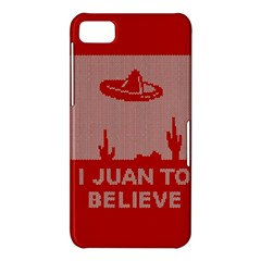 I Juan To Believe Ugly Holiday Christmas Red Background BlackBerry Z10