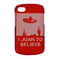 I Juan To Believe Ugly Holiday Christmas Red Background BlackBerry Q10