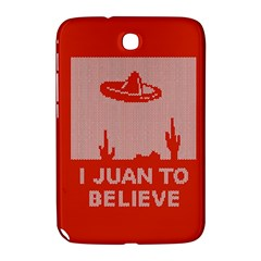 I Juan To Believe Ugly Holiday Christmas Red Background Samsung Galaxy Note 8.0 N5100 Hardshell Case