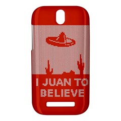 I Juan To Believe Ugly Holiday Christmas Red Background HTC One SV Hardshell Case