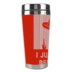 I Juan To Believe Ugly Holiday Christmas Red Background Stainless Steel Travel Tumblers