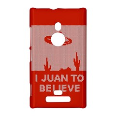I Juan To Believe Ugly Holiday Christmas Red Background Nokia Lumia 925