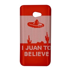 I Juan To Believe Ugly Holiday Christmas Red Background HTC Butterfly S/HTC 9060 Hardshell Case