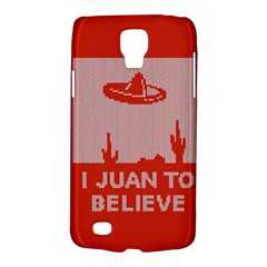 I Juan To Believe Ugly Holiday Christmas Red Background Galaxy S4 Active