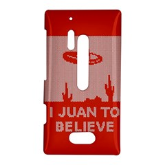 I Juan To Believe Ugly Holiday Christmas Red Background Nokia Lumia 928